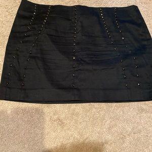Black skirt sexy